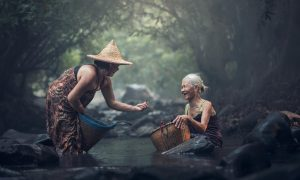 Chines old women