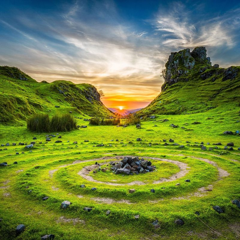 Rock circles